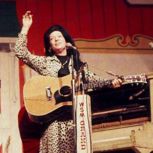 Dottie Rambo at the Grand Ole Opry