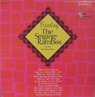 Dottie Rambo & The Rambos - Presenting The Singing Rambos - 1968