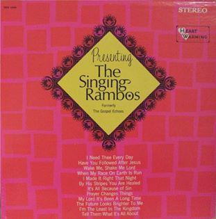 Dottie Rambo & The Rambos - Presenting The Singing Rambos - 1968