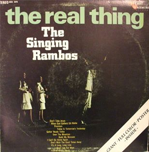 Dottie Rambo & The Rambos - The Real Thing - 1970